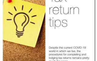 July Newsletter - Tax return Tips