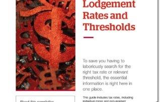2021-22 Lodgement Rates and Thresholds