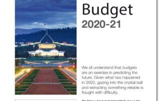 Federal Budget 2020 - 2021
